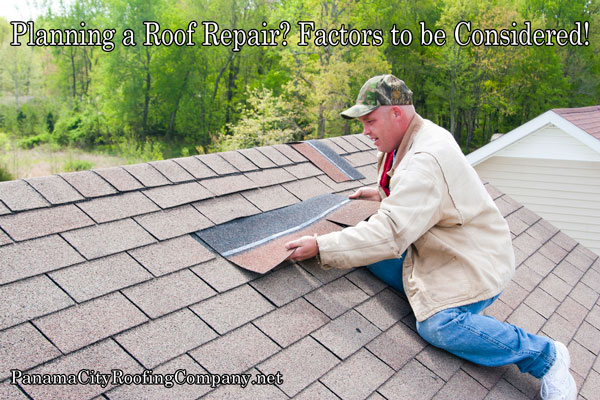 Planning A Roof Repair? Factors Should Be Considered